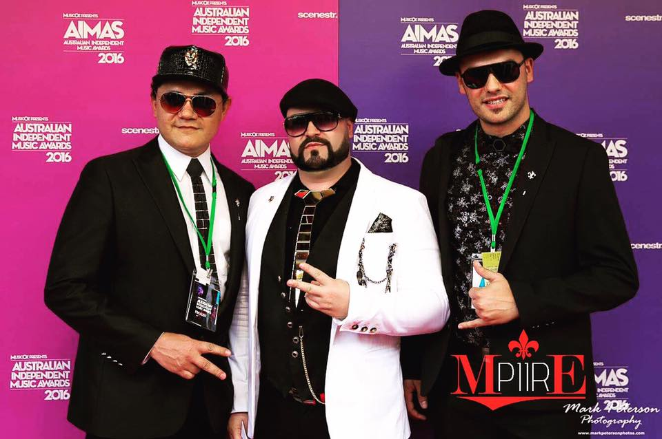 MPIIRE @ Oz Music Awards DJ Singer Saxophonist Band for Live Entertainment Sydney Brisbane Melbourne